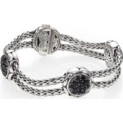Kali Black Sapphire & Sterling Silver Four-Station Bracelet found on Bargain Bro UK from Saks Fifth Avenue UK