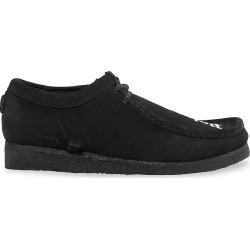 Palm Angels Men's Clarks x Palm Angels Logo Wallabee Suede Sneakers - Black White - Size 9 found on MODAPINS from Saks Fifth Avenue for USD $388.50