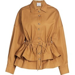 Acler Women's Battan Peplum Jacket - Carob - Size 2 found on MODAPINS from Saks Fifth Avenue for USD $330.00