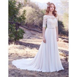 Robe en A en mousseline Darcy found on Bargain Bro India from La Baie for $1575.00
