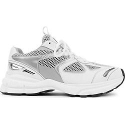 Axel Arigato Men's Marathon Mix Media Chunky Sneakers - White Silver - Size 45 (12) found on MODAPINS from Saks Fifth Avenue for USD $295.00