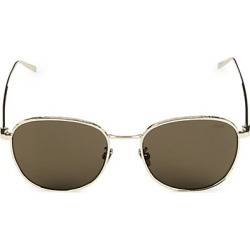 Berluti Men's 55MM Laser Detail Square Sunglasses - Gold found on MODAPINS from Saks Fifth Avenue for USD $490.00