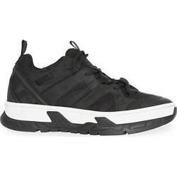 Burberry Men's Union Low-Top Sneakers - Black - Size 43 (10) found on MODAPINS from Saks Fifth Avenue for USD $750.00