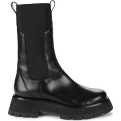 Kate Lug-Sole Leather Combat Boots found on Bargain Bro UK from Saks Fifth Avenue UK