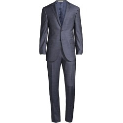 Corneliani Men's Academy Wool Suit - Dark Blue - Size 56 (46) R found on MODAPINS from Saks Fifth Avenue for USD $1466.50