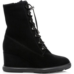 Campbell Suede Wedge Boots found on MODAPINS from Saks Fifth Avenue for USD $288.75