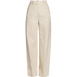 Agnona Women's Wide-Leg Linen-Blend Pants - Chalk - Size 46 (10) found on MODAPINS from Saks Fifth Avenue for USD $1190.00