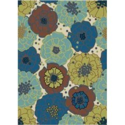 Garden Indoor Outdoor Area Rug title=