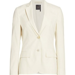 Agnona Women's Wool Single Breasted Jacket - Ivory - Size 46 (10) found on MODAPINS from Saks Fifth Avenue for USD $2390.00