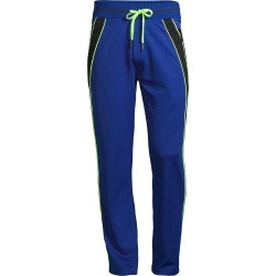 Iceberg Men's Neon Stripe Slim Fit Track Pants - Blue - Size XL found on MODAPINS from Saks Fifth Avenue for USD $134.00