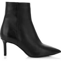 Aquatalia Women's Mackenzie Leather Ankle Boots - Black - Size 8.5 found on MODAPINS from Saks Fifth Avenue for USD $495.00