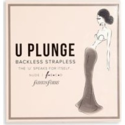 U-Plunge Backless Strapless Bra