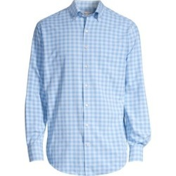 Crown Sport Natural Touch Gingham Sport Shirt