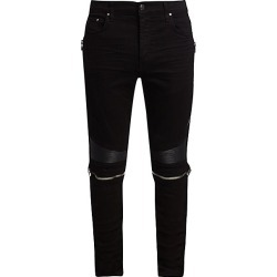 Amiri Men's MX2 Zipper Skinny Jeans - Black - Size 34 found on MODAPINS from Saks Fifth Avenue for USD $535.50
