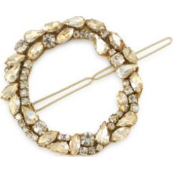 Dar Mixed Crystal Open Circle Barrette found on Bargain Bro Philippines from Saks Fifth Avenue Canada for $60.94