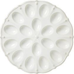Juliska Berry & Thread Deviled Egg Platter found on Bargain Bro India from Saks Fifth Avenue for $78.00
