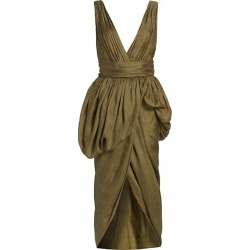 Canna Linen & Silk Wrap Dress found on Bargain Bro from Saks Fifth Avenue Canada for USD $2,079.63