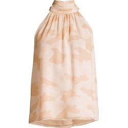Joie Women's Erola Camo Halter Top - Pink Sky - Size XS found on MODAPINS from Saks Fifth Avenue for USD $79.19