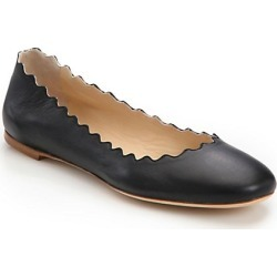 Chloé Women's Lauren Leather Ballet Flats - Black - Size 35.5 (5.5) found on Bargain Bro India from Saks Fifth Avenue for $495.00