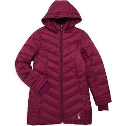 Girl's Long Puffer Coat