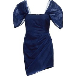 Haney Women's Octavia Puff-Sleeve Organza Mini Dress - Blue - Size 8 found on MODAPINS from Saks Fifth Avenue for USD $580.00