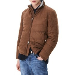 Suede Puffer Jacket found on Bargain Bro India from Saks Fifth Avenue AU for $4174.43