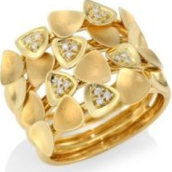 Bahia 18K Gold & Diamond Tiered Statement Ring found on Bargain Bro India from Saks Fifth Avenue Canada for $2867.17