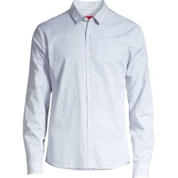 HUGO Men's Ero Extra Slim-Fit Degrade Print Shirt - Grey - Size XL found on MODAPINS from Saks Fifth Avenue for USD $157.99