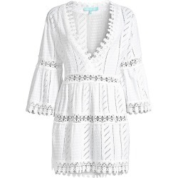 Melissa Odabash Women's Victoria Lace Dress - White - Size XS found on Bargain Bro India from Saks Fifth Avenue for $106.00
