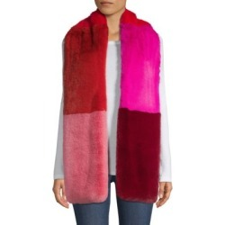 Savage Love Faux Fur Colorblocked Wide Scarf found on Bargain Bro India from Saks Fifth Avenue AU for $185.36