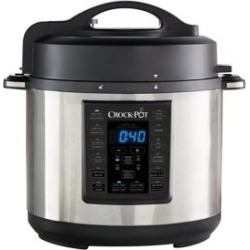 8-in-1 Multi-Use Express Crock Programmable Slow Cooker, Pressure Cooker, Saute, and Steamer SCCPPC600-V1