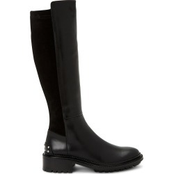 Aquatalia Women's Omara Knee-High Leather Boots - Black - Size 5 found on MODAPINS from Saks Fifth Avenue for USD $260.62