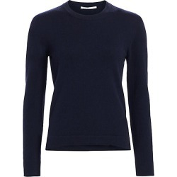 Agnona Women's Cashmere Long-Sleeve Sweater - Navy - Size Small found on MODAPINS from Saks Fifth Avenue for USD $890.00