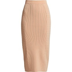 Jonathan Simkhai Women's Greer Compact Rib Pencil Skirt - Blush - Size Small found on MODAPINS from Saks Fifth Avenue for USD $325.00