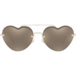 58MM Heart Aviator Sunglasses found on Bargain Bro Philippines from Saks Fifth Avenue Canada for $426.56