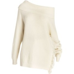 Soft Simple Fringe Trim Sweater found on Bargain Bro Philippines from Saks Fifth Avenue AU for $720.89
