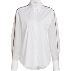 Embellished Organza-Sleeve Shirt found on Bargain Bro Philippines from Saks Fifth Avenue AU for $3168.30