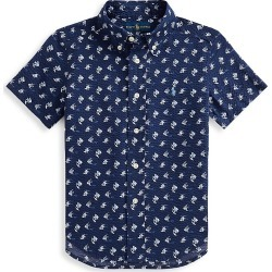 Ralph Lauren Little Boy's and Boy's Angelfish Short-Sleeve Shirt - Size 6 found on Bargain Bro India from Saks Fifth Avenue for $45.00