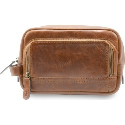Frye Men's Logan Leather Toiletry Bag - Cognac found on MODAPINS from Saks Fifth Avenue for USD $178.00