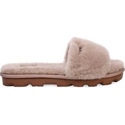 UGG Women's Cozette Sheepskin Slides - Oyster - Size 12 Sandals found on Bargain Bro India from Saks Fifth Avenue for $80.00