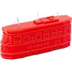 Chandelle représentant le tramway de Toronto