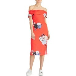 Cameo Floral-Print Off-The-Shoulder Sundress found on MODAPINS from The Bay for USD $119.00