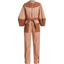 Gabriette Two-Tone Tie-Waist Jumpsuit found on Bargain Bro India from Saks Fifth Avenue AU for $273.43