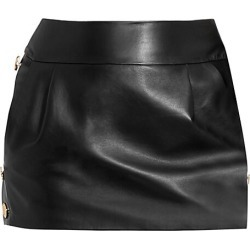 Alexandre Vauthier Women's Leather Mini Skirt - Black - Size 38 (6) found on MODAPINS from Saks Fifth Avenue for USD $1129.50