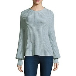 Apiece Apart Women's Sequoia Mockneck Top - Blue Sky - Size Large found on MODAPINS from Saks Fifth Avenue for USD $118.49