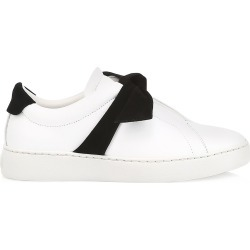 Alexandre Birman Women's Clarita Bow Leather Sneakers - Black White - Size 10 found on MODAPINS from Saks Fifth Avenue for USD $425.00