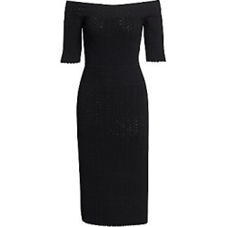 Altuzarra Women's Stansfield Off-the-Shoulder Knit Midi Dress - Black - Size XS found on MODAPINS from Saks Fifth Avenue for USD $995.00