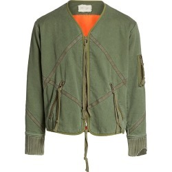 Greg Lauren Men's Utility Modern Flight Jacket - Army - Size XL found on MODAPINS from Saks Fifth Avenue for USD $1375.00