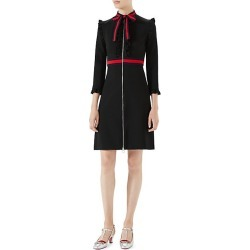 Gucci Women's Viscose Jersey Dress - Black Red Trim - Size Large found on MODAPINS from Saks Fifth Avenue for USD $2100.00