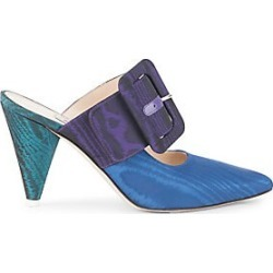 Attico Women's Buckle Point-Toe Mules - Size 37.5 (7.5) found on MODAPINS from Saks Fifth Avenue for USD $294.00